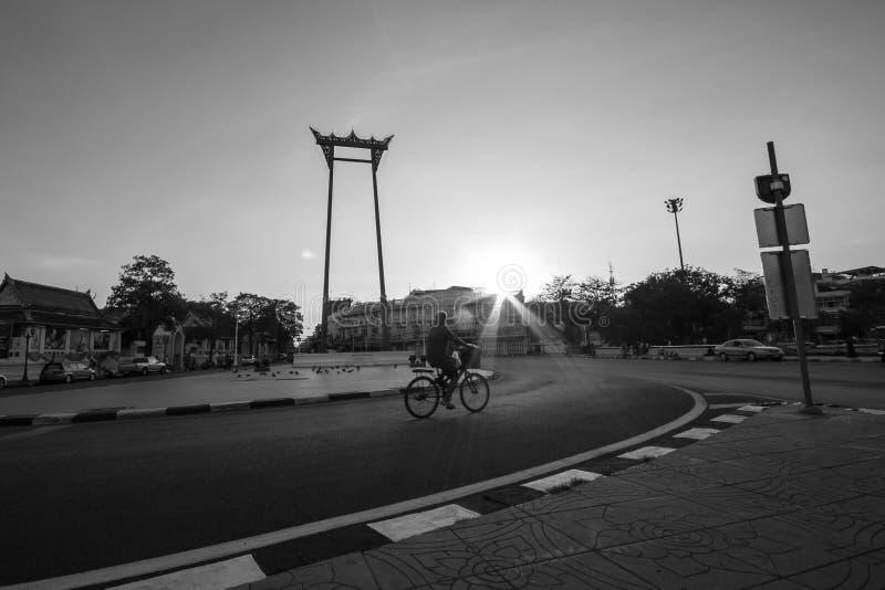 Gigantyczna huśtawka Tajlandia zdjęcie royalty free