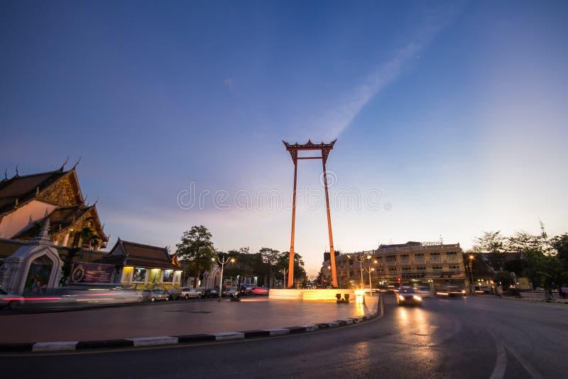 Gigantyczna huśtawka Tajlandia obrazy royalty free