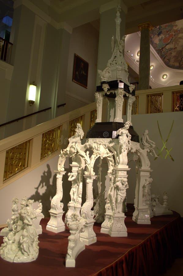 Gigantyczny porcelany rzeźby skład zdjęcie royalty free