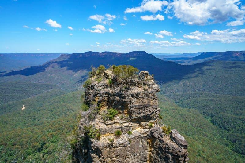 Gigantyczny schody ślad, błękitne góry, Australia 2 zdjęcia royalty free
