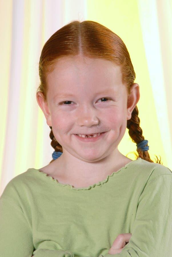 Giggly Redhead stock photos