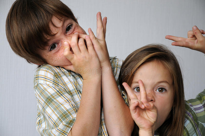 Download Giggly Siblings Stock Photos - Image: 22798463