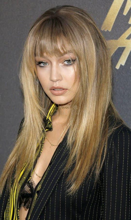Gigi Hadid imagem de stock royalty free