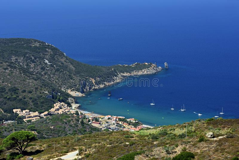 Giglio Campese, Tuscany, Italy royalty free stock photos