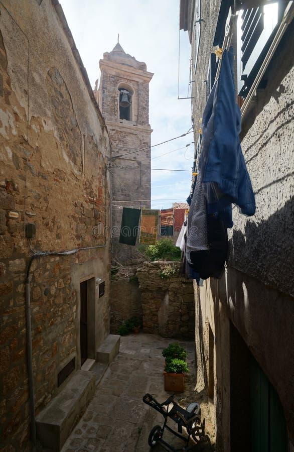 Giglio Castello royalty free stock photo