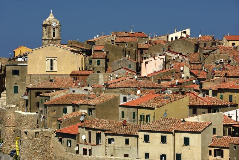 Giglio Castello, Tuscany, Italy stock photography