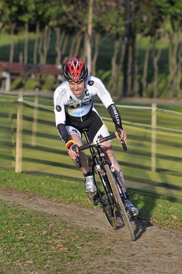 GIJON, SPAIN - JANUARY 9: Cyclocross Championships Spain In Janu ...