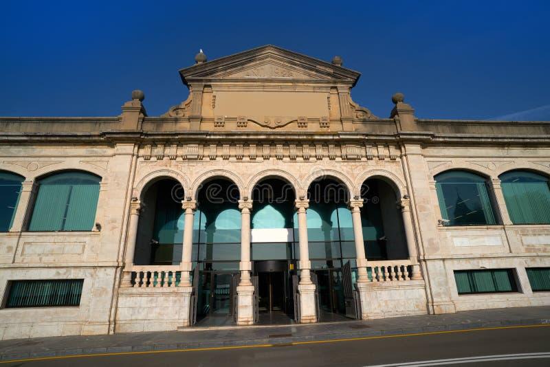 Gijon stary rybi rynek Asturias Hiszpania zdjęcia royalty free