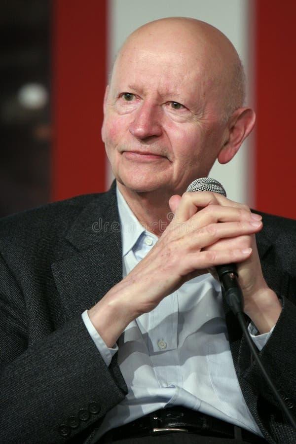 Gil Jacob, presidente del festival de Cannes imagen de archivo libre de regalías
