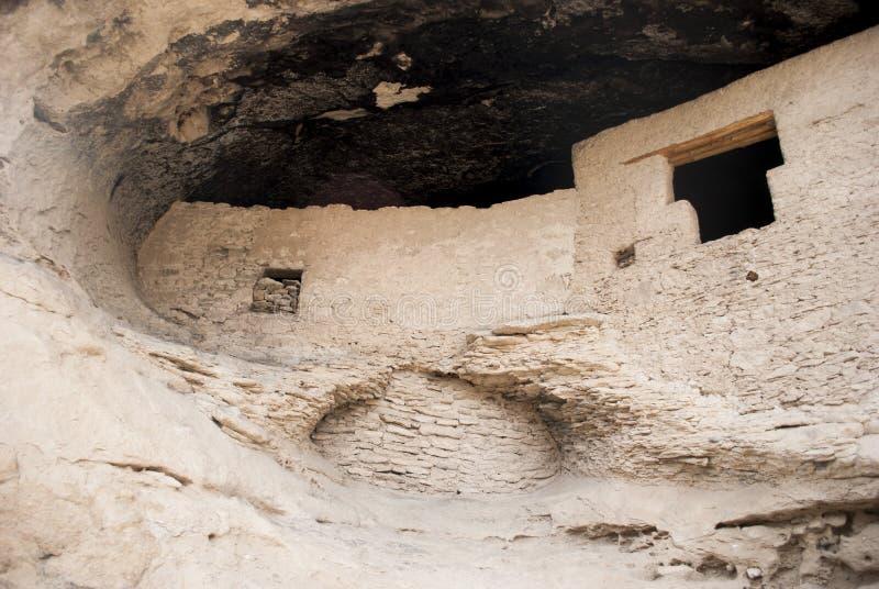 Gila Cliff Dwellings foto de stock royalty free