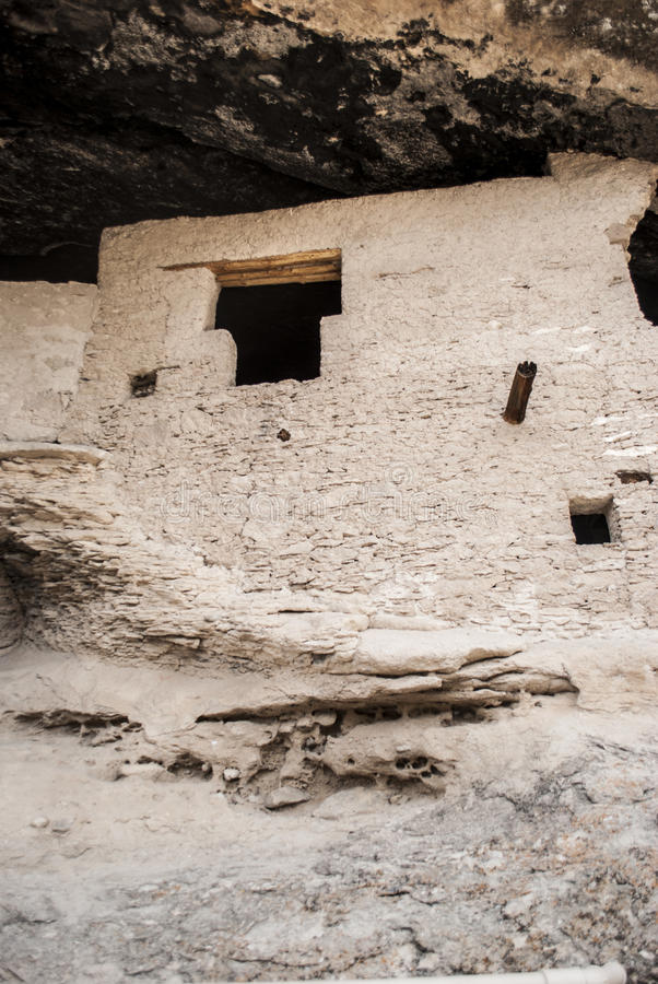 Gila Cliff Dwellings. In the Gila National Forest royalty free stock photography