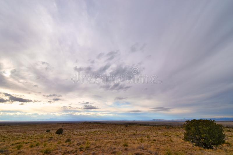 Gila, New Mexico - 2019_01.15: Gladly lost somewhere in the mountains.  royalty free stock photo