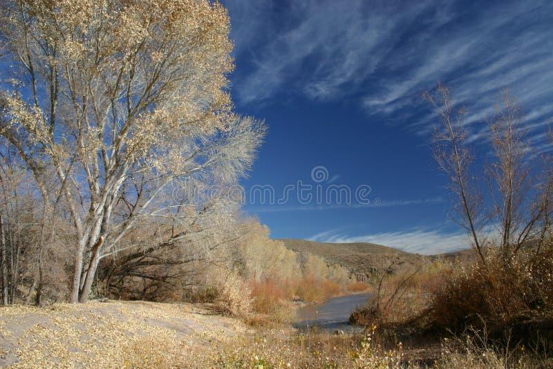 Gila River. Gila Box Riparian National Conservation Area. Arizona, USA royalty free stock photography
