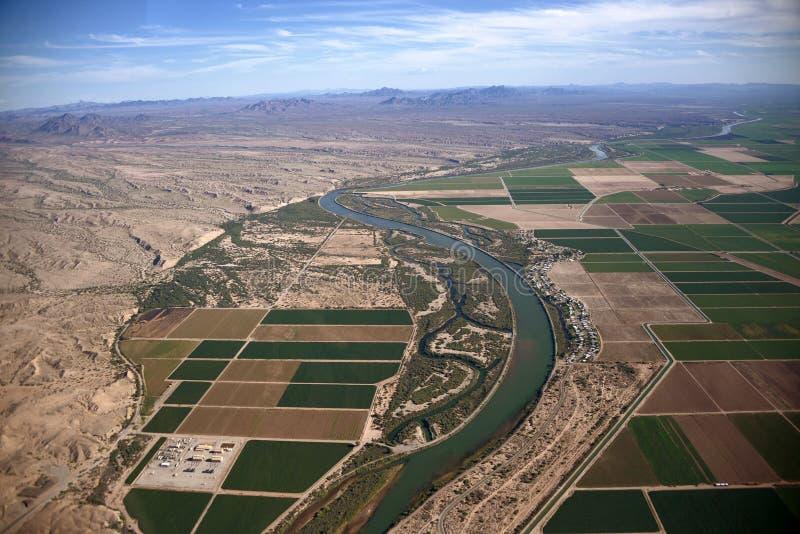 Gila River fotos de archivo