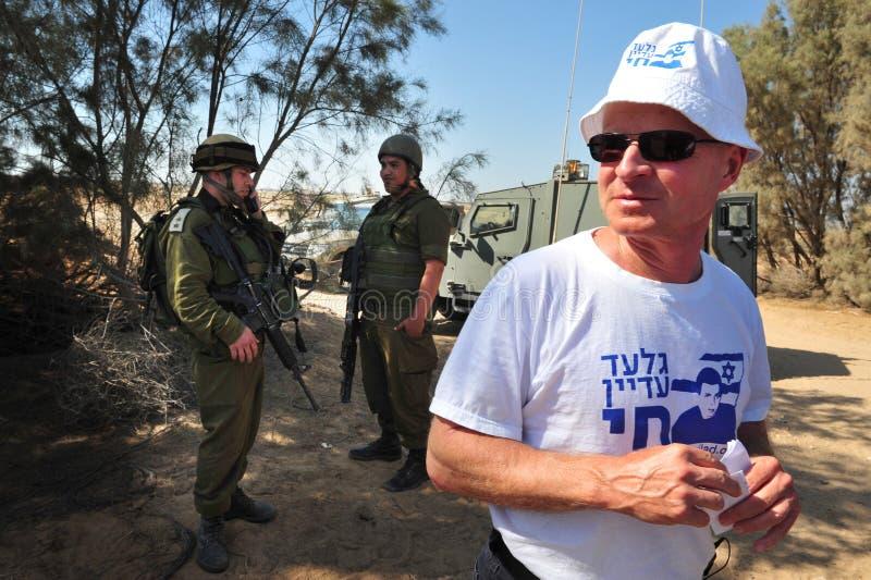 Gilad Shalit imagens de stock