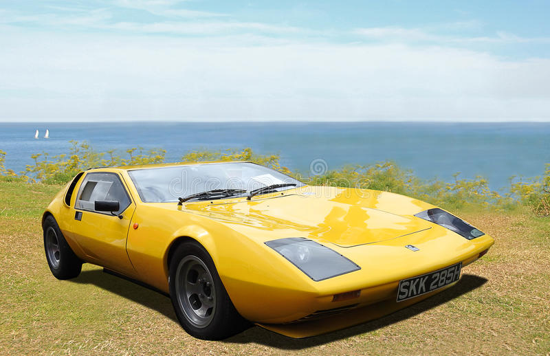 Gilbern sportscar stock photos