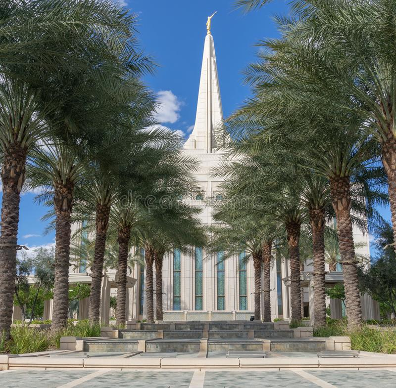 He Gilbert Arizona Temple is a temple of The Church of Jesus Christ of Latter-day Saints LDS Church. The Gilbert Arizona Temple is a temple of The Church of stock photo