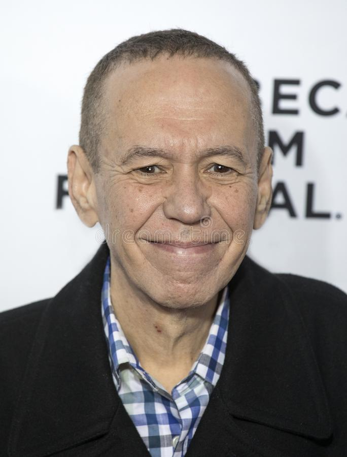 Gilbert Gottfried na premier do amor do `, Gilda, ` no festival de cinema de Tribeca imagens de stock royalty free