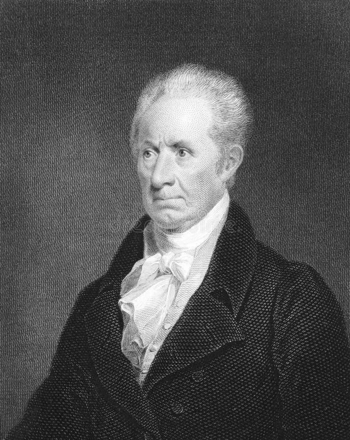 Gilbert Stuart imagen de archivo libre de regalías