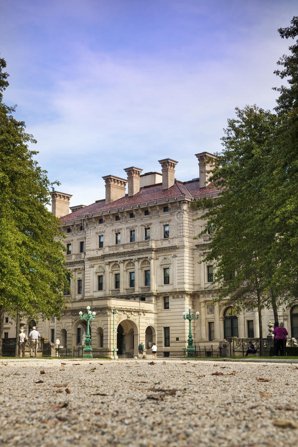 Gilded Age Mansions: The Breakers royalty free stock image