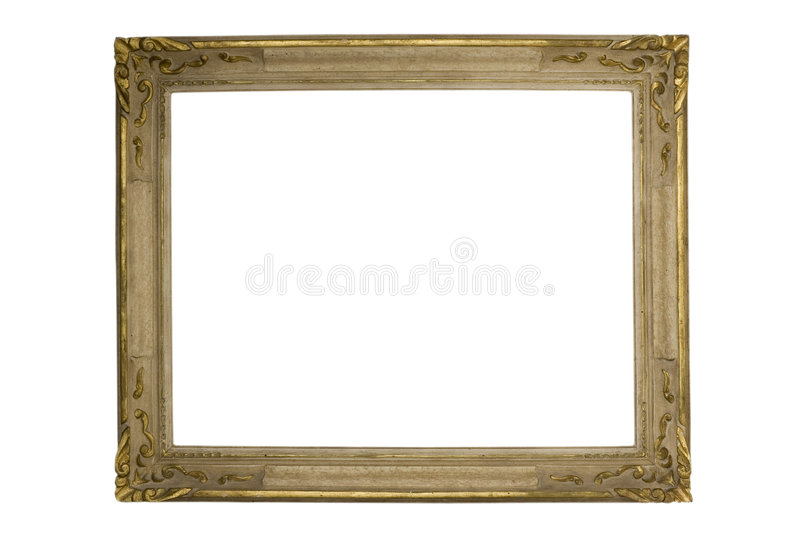 Gilded frame royalty free stock photos