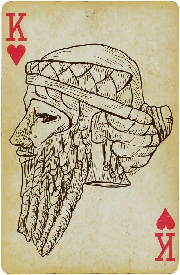 Gilgamesh illustrazione vettoriale