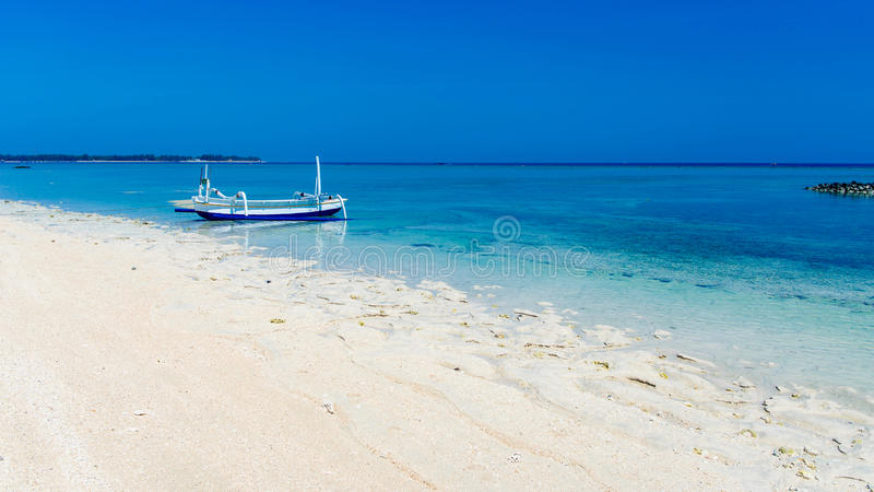 Gili Air sea view royalty free stock photography
