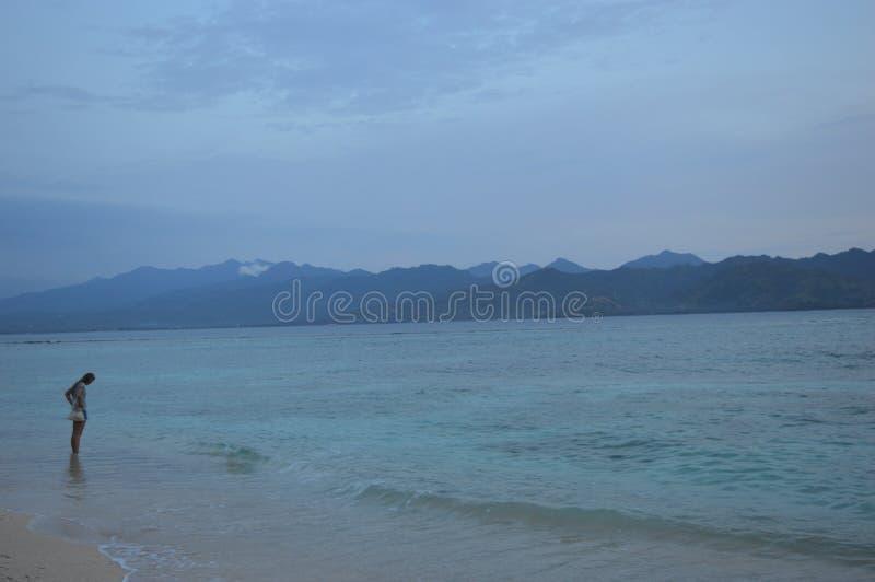 Gili Trawangan,龙目岛,印度尼西亚 免版税库存图片