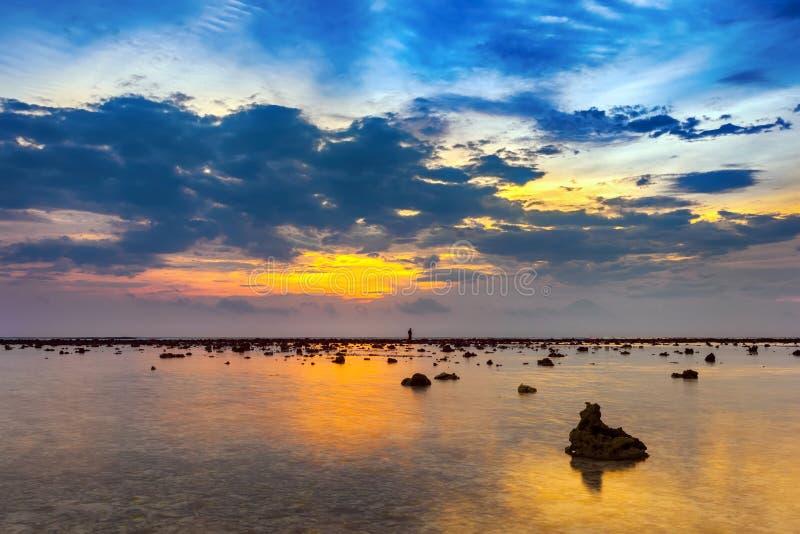 Gili Trawangan-eiland, Indonesië stock afbeelding