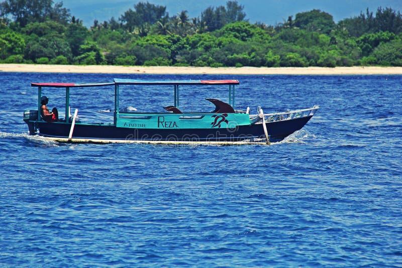 The Gilitrawangan beach stock photo