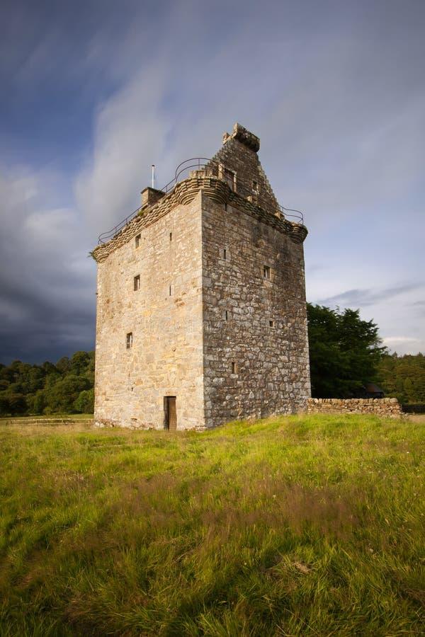 Gilknockietoren, Dumfries en Galloway, Schotland stock foto's