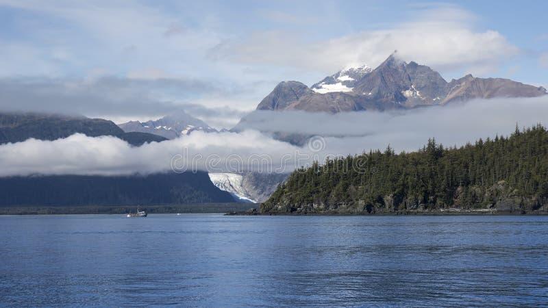 Gill Net Fishing in Südost-Alaska lizenzfreies stockfoto