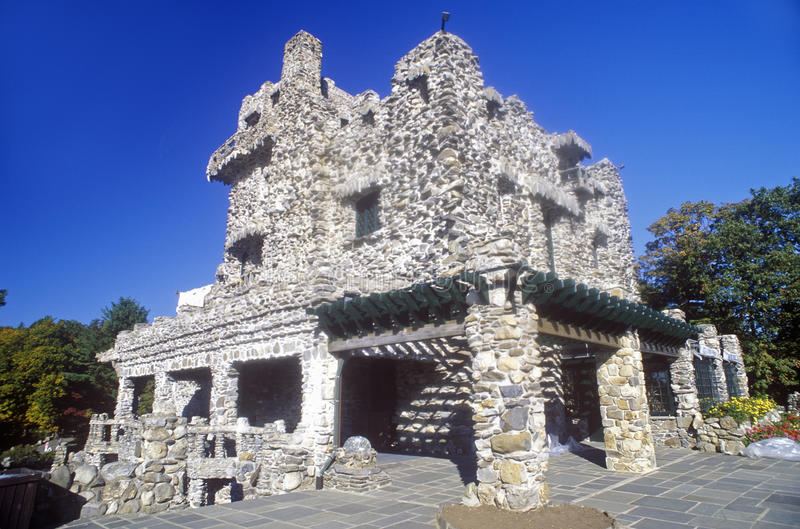 Gillette Castle State Park, Haddam est, le Connecticut image libre de droits