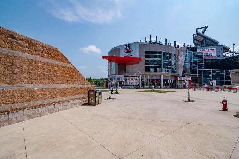 Gillette Stadium, dom Patriotów Nowej Anglii zdjęcia royalty free