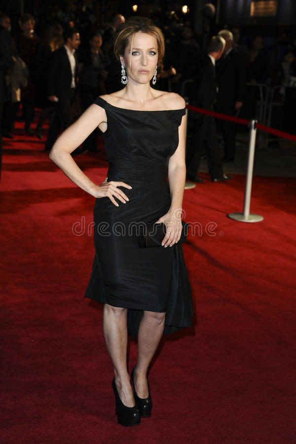 Download Gillian Anderson editorial image. Image of festival, leicester - 21838915