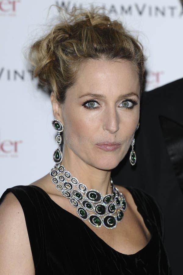 Gillian Anderson royalty-vrije stock foto