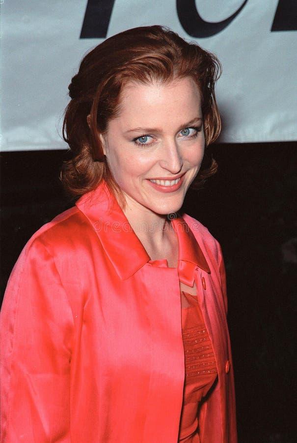 Gillian Anderson fotografia stock