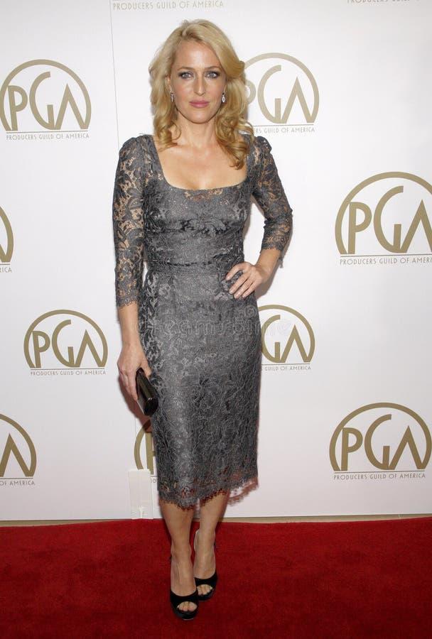 Gillian Anderson immagine stock libera da diritti