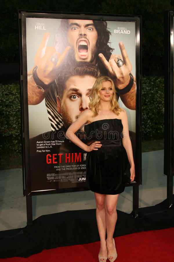Gillian Jacobs #4 stock afbeeldingen