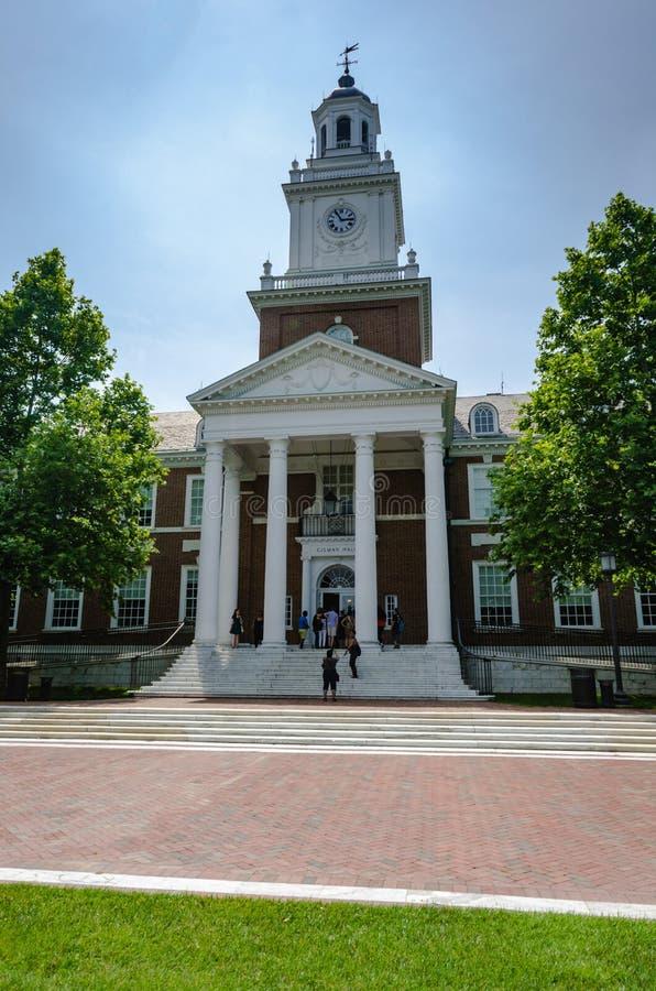 Gilman Hall - Universität John Hopkins - Baltimore, MD stockfotografie