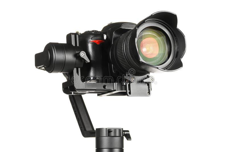 Gimbal stabilizator z kamer? obraz stock