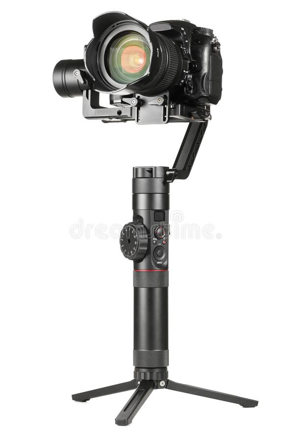Gimbal stabilizator z kamer? obraz royalty free