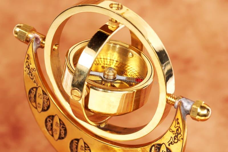 Gimball Compass royalty free stock image