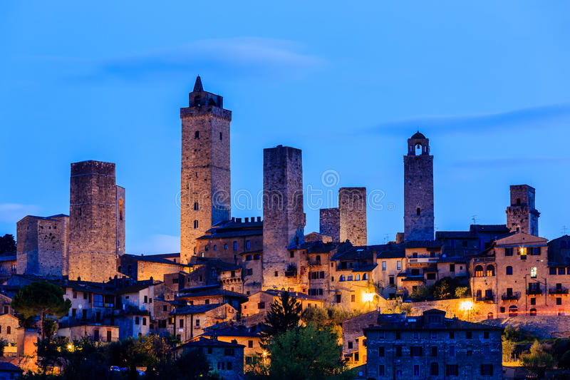 gimignano Ιταλία SAN στοκ φωτογραφία με δικαίωμα ελεύθερης χρήσης
