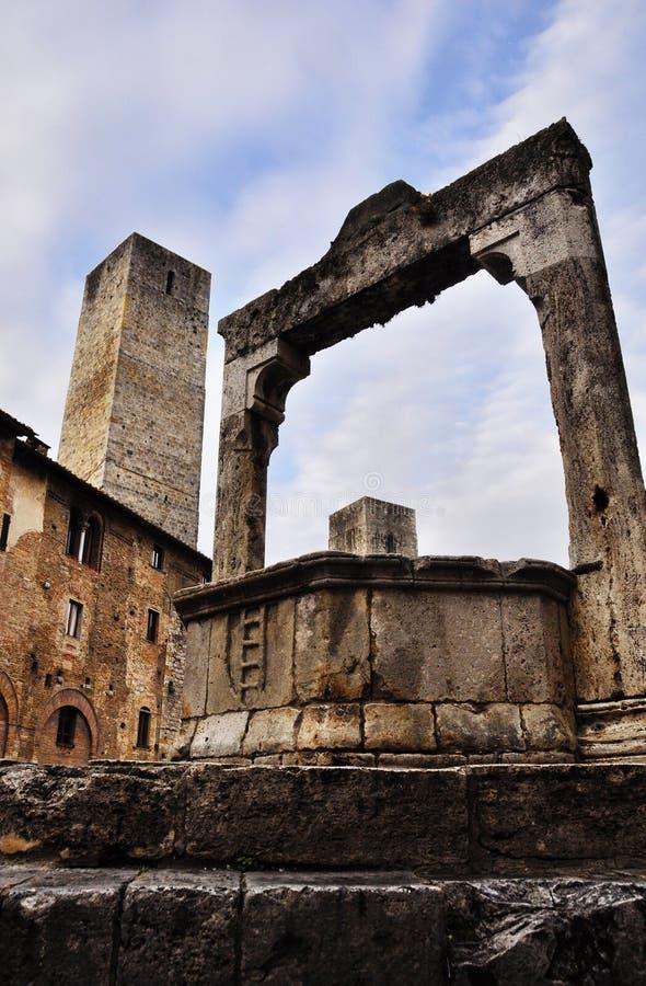Gimignano de San fotografía de archivo libre de regalías