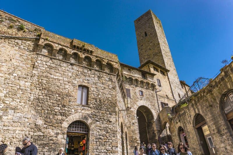 gimignano Italy San Tuscany obrazy royalty free