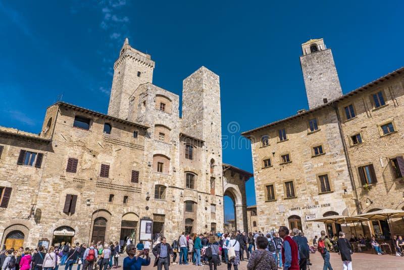 gimignano Italy San Tuscany obraz stock
