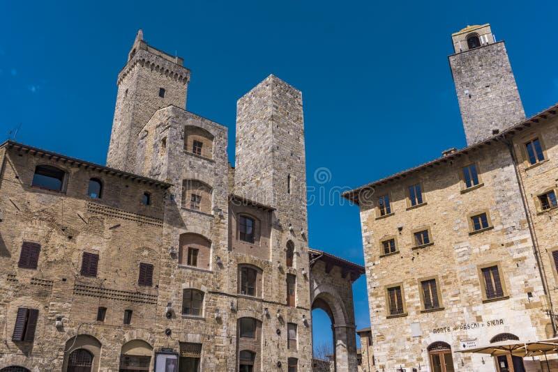 gimignano Italy San Tuscany zdjęcia stock
