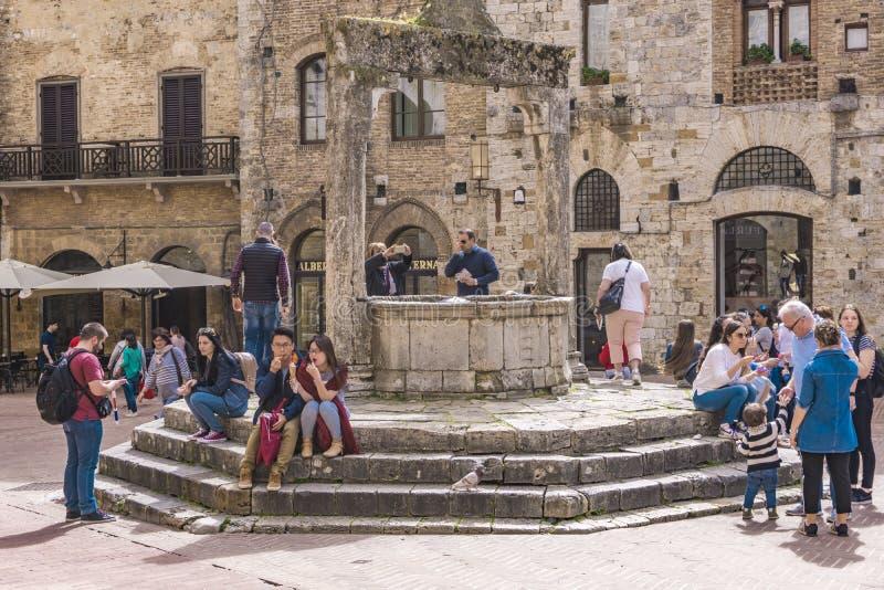 gimignano Italy San Tuscany zdjęcie royalty free