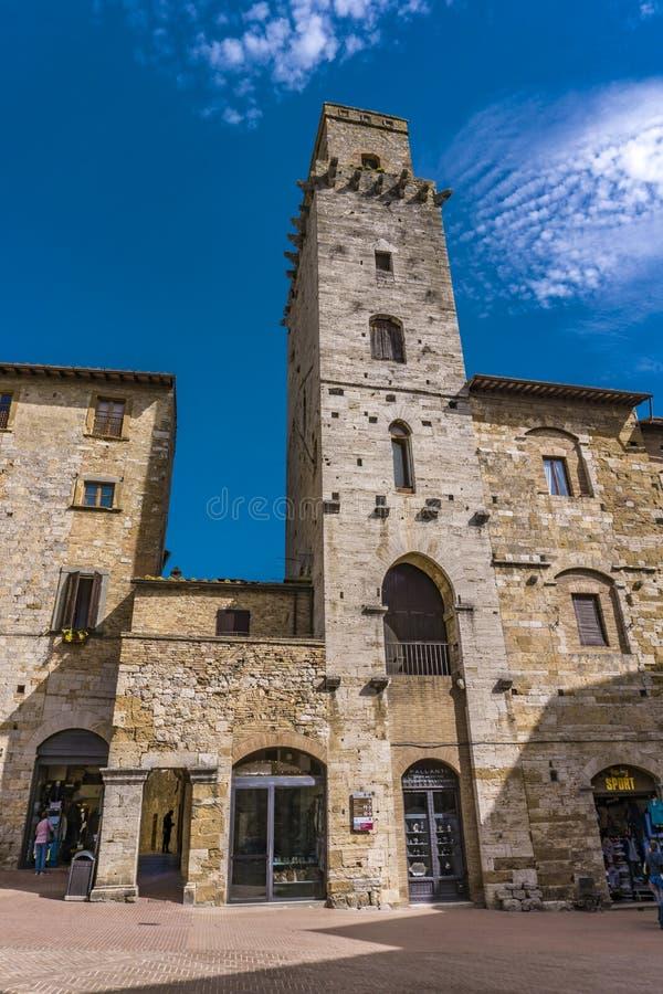 gimignano Italy San Tuscany fotografia stock